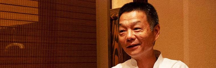 中国四川料理ドンシューの細木オーナーの写真